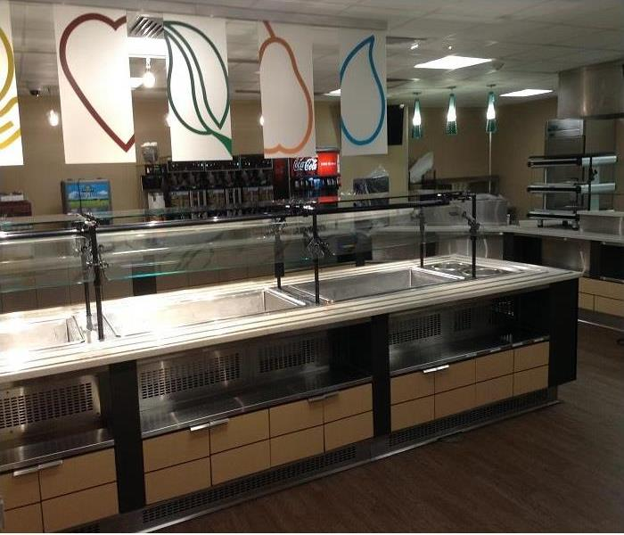 Post Construction Cleaning of Hospital Cafeteria