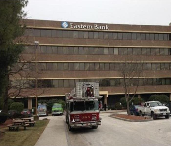 Eastern Bank Fire - Lynn, MA