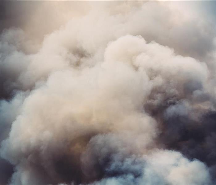 gray billowing smoke from a fire