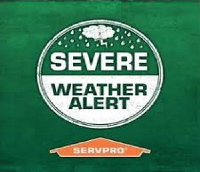 SERVPRO Severe Weather Alert Warning
